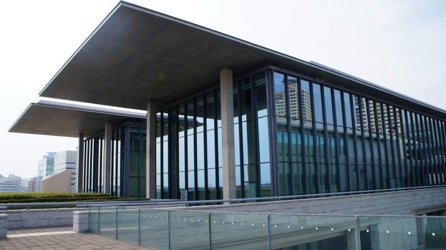 兵庫県立美術館。