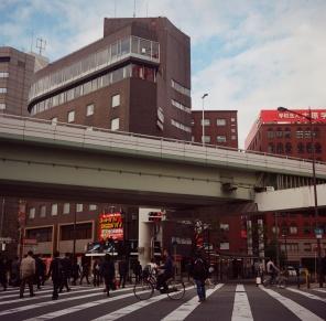 Osaka, Japan. Rolleiflex. 2014.