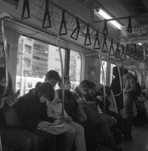 Tokyo, Japan Camera: Rolleiflex Film: Rollei RPX400