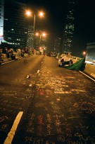 Admiralty. During Umbrella Movement. 2014. Taken by 135mm Lomo 800 film.