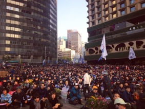 Anti-President Protest, Seoul, 2016