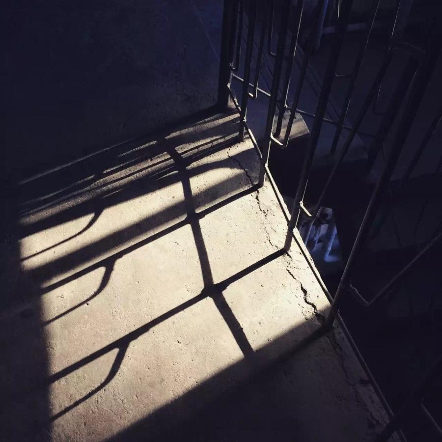 家門前的斜陽